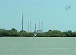 Американская космическая ракета Falcon 9 взорвалась сразу после запуска
